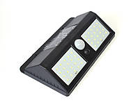 Настенный светильник на солнечной батарее с датчиками движения и освещенности. YH818, 40SMD