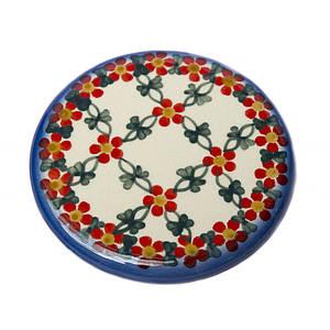 Керамическая подставка под чашку круглая 11,5 Lace