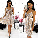 Платье-сарафан из софта 24-1351, фото 3