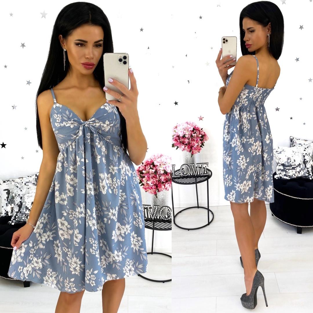 Платье-сарафан из софта 24-1351