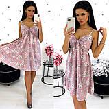 Платье-сарафан из софта 24-1351, фото 5