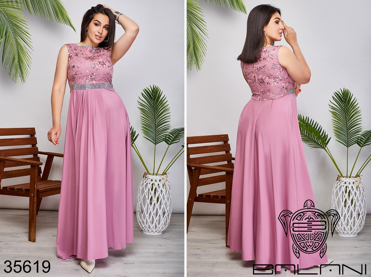Вечернее платье в пол размер: 48,50,52,54