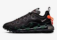 Мужские кроссовки Nike Air Max 720 ISPA Black Реплика, фото 1