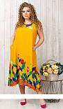 Платье штапельное  цвета, 8017.5, фото 2