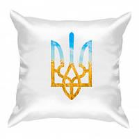Подушка з Гербом України Код-12090-100008