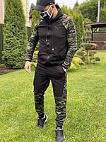 Спортивный мужской костюм Puma реплика. Камуфляжный спортивный костюм Пума, военные, защитный
