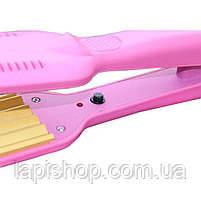 Выпрямитель для волос с гофре Gemei GM-1959., фото 4