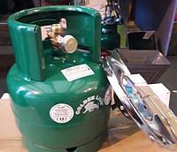 Газовый баллон-пикник Ruddy - Golden Lion VIP с горелкой объемом 5 литров