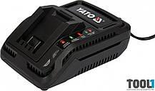 Зарядное устройство к аккумуляторов Li-Ion 18 В от сети 230 В Yato YT-82848
