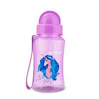 Бутылка для воды KiteтLovely Sophia 350мл с трубочкой
