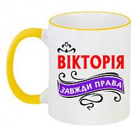 Чашки з іменами