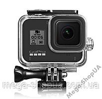 Защитный корпус чехол аквабокс для экшн камеры гопро GoPro Hero 8 Black водонепроницаемый ZX124