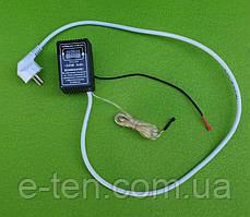 Терморегулятор цифровой DALAS  5кВт (для ТЭНов) c ДВУМЯ ДАТЧИКАМИ / ВОДА +5°С...+80°С / ВОЗДУХ +5°С...+40°С