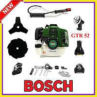 Мотокоса Bosch GTR 52 Польша 5.2 кВт/7 л.с  Бензокоса Бош Poland, кусторез, триммер мотокоса