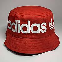 Панама летняя Adidas Цвет красный, фото 1