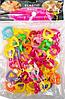 Подвески пластиковые для плетения резиновых фенечек