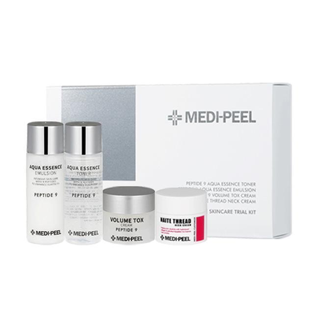 Омолаживающий Набор миниатюр с пептидами для лица и шеи Medi-Peel Peptide Skincare Trial Kit