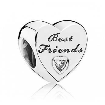 Шарм «крепкая дружба» в стиле Pandora