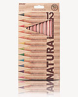 Цветные карандаши толстые 5мм Marco Natural Jumbo 6400-12CB 12 цветов