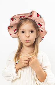 Детские шляпы FAMO Шляпа детская Манк пудровая 49 (SHLD-2007)