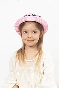 Детские шляпы FAMO Шляпа детская Панди светло-розовая 50 (SHLD-2012)