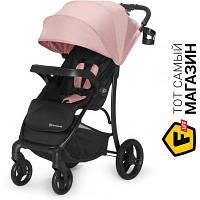 Прогулочная коляска- книжка одноместная Kinderkraft Cruiser Pink (KKWCRUIPNK0000) розовый