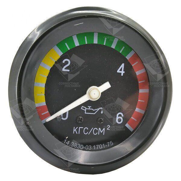 Указатель МД-219 давления масла 6 АТМ механический МТТ-6 МТЗ, ЮМЗ-6, Т-40, Т-25, Т-16