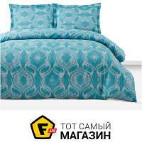 Комплект постельного белья полуторный 160x220 см хлопок синий Arya Simple Living Veras, полуторный (TR1006590)