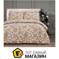 Комплект постельного белья полуторный 160x220 см хлопок желтовато-коричневый Arya Simple Living Denali, полуторный (TR1005617)