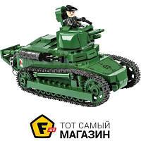 Моделист-конструктор конструктор для мальчиков от 6 лет - Cobi Танк Рено ФТ-17 (COBI-2973)
