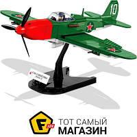 Моделист-конструктор конструктор для мальчиков от 6 лет Вторая Мировая Война - Cobi BELL P-39Q Aircobra (COBI-5547)