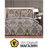 Комплект постельного белья полуторный 160x220 см хлопок кофейный Arya Simple Living Anisa, полуторный (TR1005601)