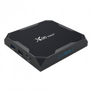 Смарт-бокс ТВ приставка TV Box X96 MAX 4/32GB 4K (GDFKK4G)
