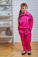 Костюм для девочки с брюками малина, фото 1