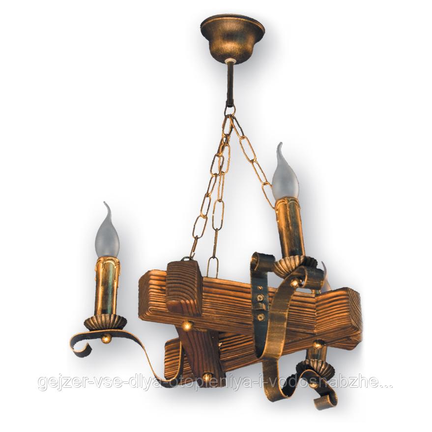 Люстра подвесная 3 свечи Е14 серии Lilia 350923