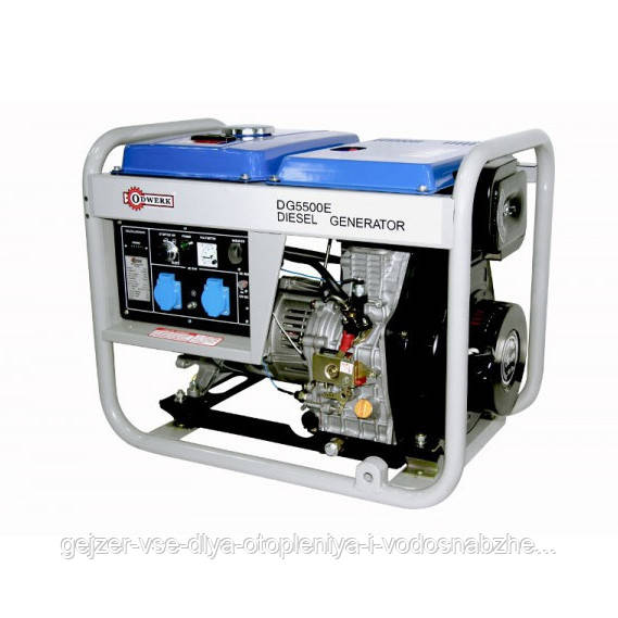 Дизельный генератор Odwerk DG5500E 5000Вт