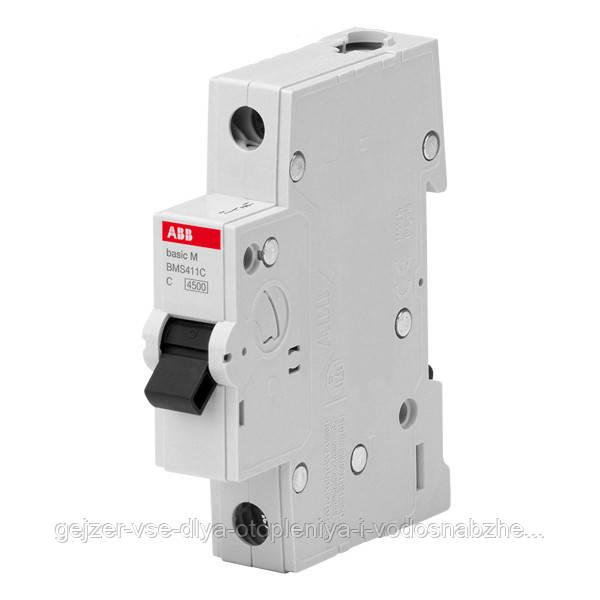 Автоматический выключатель ABB BMS411C6 1P 6A 4.5kA