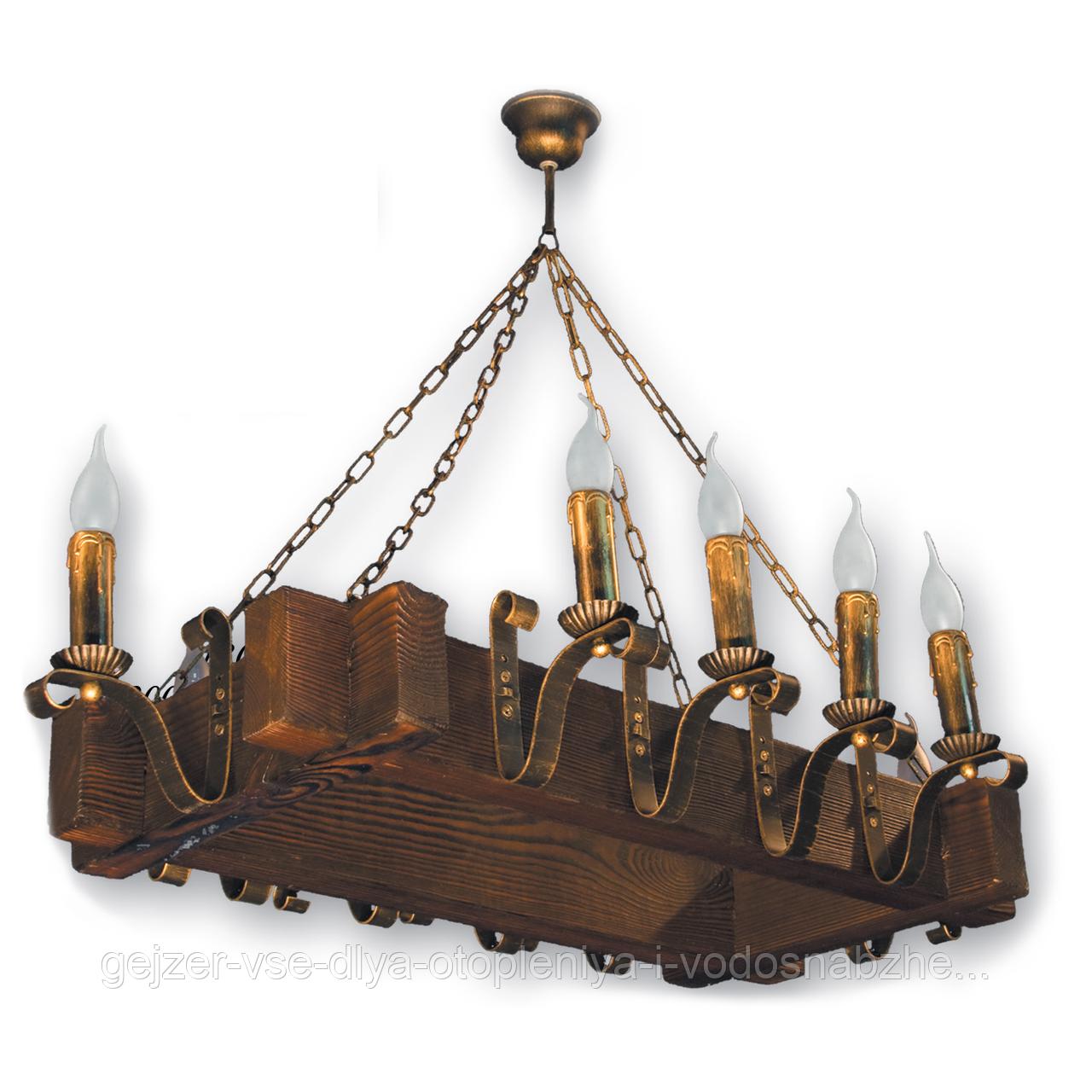 Люстра подвесная 10 свечей Е14 серии Lilia 4109210