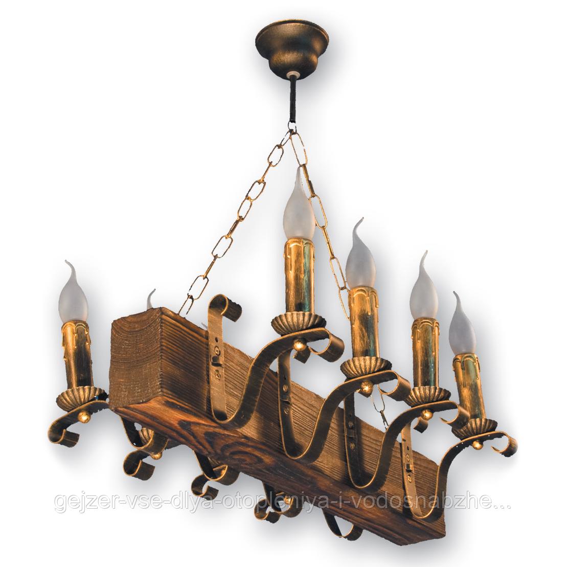 Люстра подвесная 8 свечей Е14 серии Lilia 130928