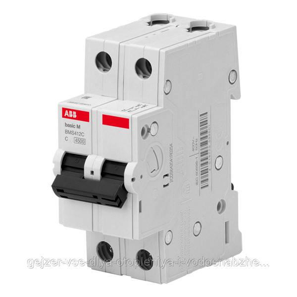 Автоматический выключатель ABB BMS412C25 2P 25A 4.5kA