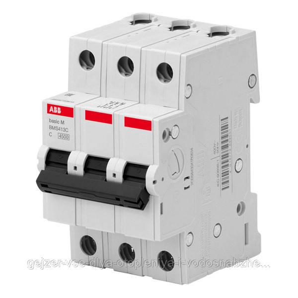 Автоматический выключатель ABB BMS413C25 3P 25A 4.5kA