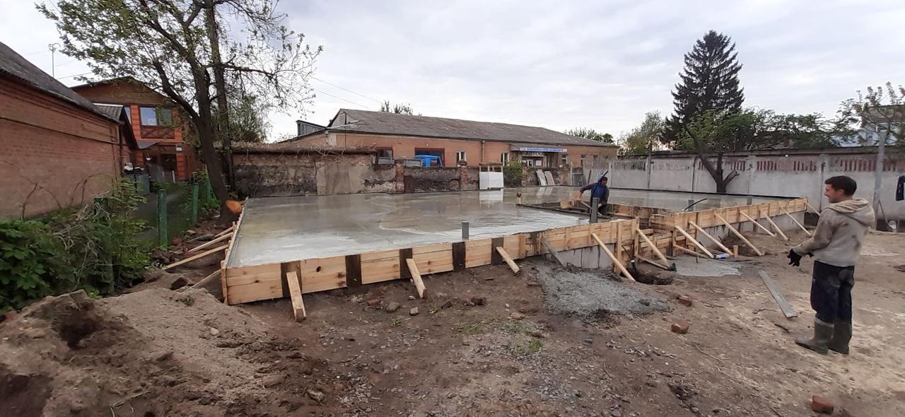 Фундамент,монолит капитальное строительство домов зданий в Винница и область бетонные работы