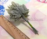 (12шт) Декоративные кленовые листья на проволоке,dz 11см (сп7нг-1582), фото 3
