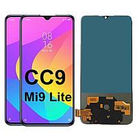 Дисплей (LCD) Xiaomi Mi 9 Lite | Mi9 Lite | CC9 TFT с тачскрином, чёрный