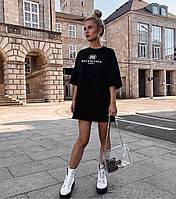 Женская футболка удлиненная