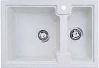 Кухонная мойка Everest 43R (625х425) Белая