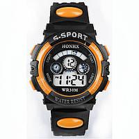 Часы мужские наручные S- SPORT Yonix orange