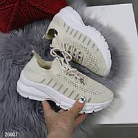 Кроссовки женские дышащие текстильные, фото 1