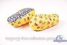 Тапочки женские (цв.желтый) смайл Размер:36