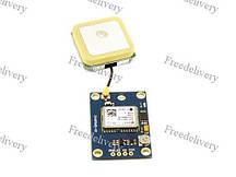 Ublox NEO-6M GPS-модуль з антеною, Arduino APM2